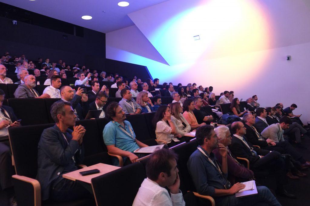 Auditório I Conferência Internacional de Comunidades de Energia