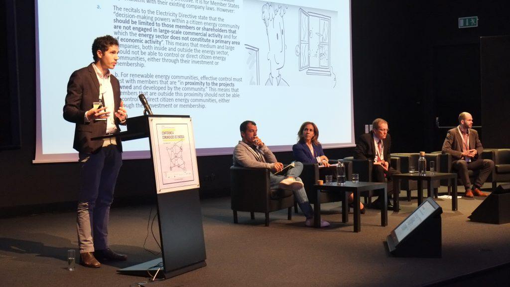 Painel Regulação Comunidades de Energia: Uma visão nacional e europeia - Stanislas d'Herbemont (REScoop)