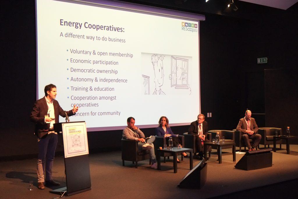 ainel Regulação Comunidades de Energia: Uma visão nacional e europeia - Stanislas d'Herbemont (REScoop)
