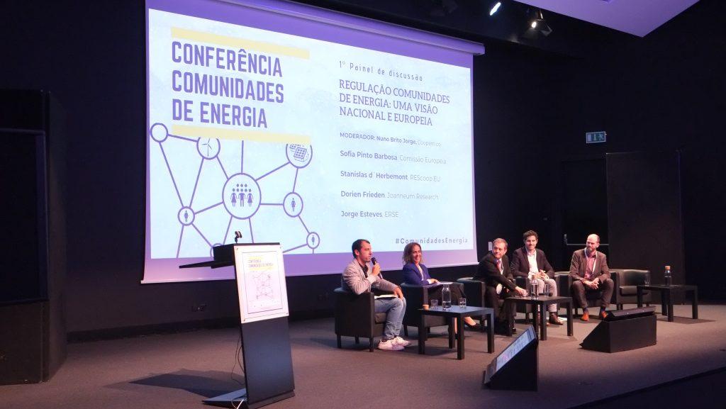I Painel - Regulação Comunidades de Energia: Uma visão nacional e europeia - Moderador: Nuno Brito Jorge (Presidente da Coopérnico)