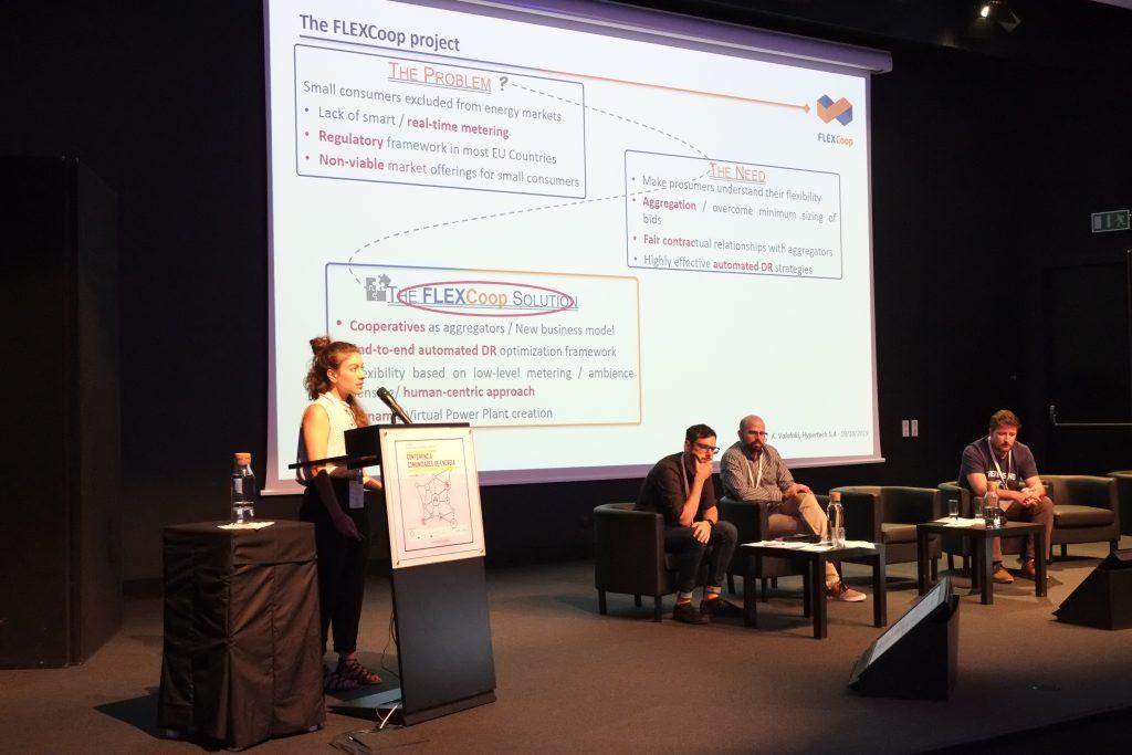 Painel Mecanismos e Tecnologias: Como criar comunidades de energia - Katerina Valalaki (Hypertech/FLEXCoop & MERLON)