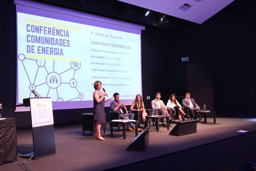 III Painel - Casos Piloto em Portugal - Moderadora: Ana Rita Antunes (Coopérnico)